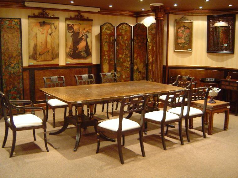 宮廷餐桌椅系列